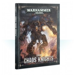 CODEX warhammer 40k CHAOS KNIGHTS manuale GAMES WORKSHOP citadel A COLORI età 12+ Games Workshop - 1