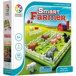SMART FARMER separa gli animali SMART GAMES fattoria 60 SFIDE allevamento GIOCO EDUCATIVO età 5+ Smart Games - 1