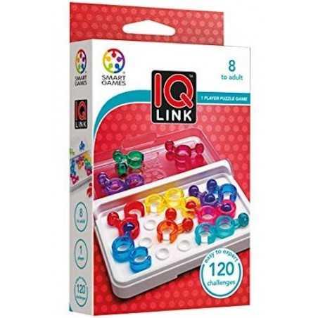 IQ LINK gioco solitario ROMPICAPO logica SMART GAMES puzzle PORTATILE età 8+ Smart Games - 1