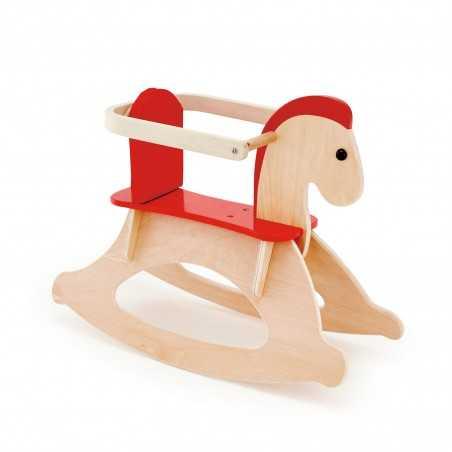 CAVALLO A DONDOLO in legno cavalcabile HAPE Hape - 1