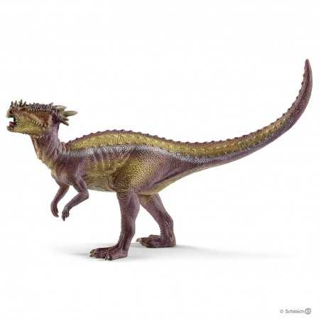 DRACOREX dinosauri SCHLEICH dinosaurs 15014 giallo e viola MINIATURA IN RESINA età 3+ Schleich - 1