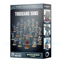 START COLLECTING chaos THOUSAND SONS 21 miniature WARHAMMER 40K Citadel GAMES WORKSHOP età 12+ Games Workshop - 1