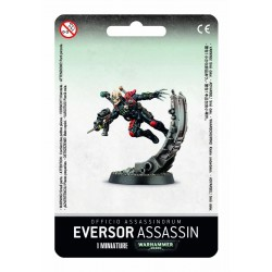 EVERSOR ASSASSIN officio assassinorum GAMES WORKSHOP 1 miniatura WARHAMMER 40K Citadel 12+ Games Workshop - 1