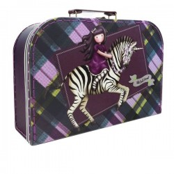 VALIGETTA in cartone BIG gorjuss SCATOLA the dark streak SANTORO suitcase 421GJ12 box Gorjuss - 1