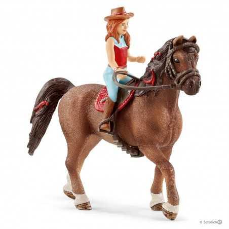 HANNAH E CAYENNE cavallo HORSE CLUB schleich 42514 cavallerizza QUARTER età 5+ Schleich - 1