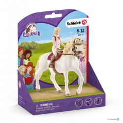 Figura in Plastica Club di cavallo 42430 Schleich Cavallo Club Hannah/'S Kit di pronto soccorso
