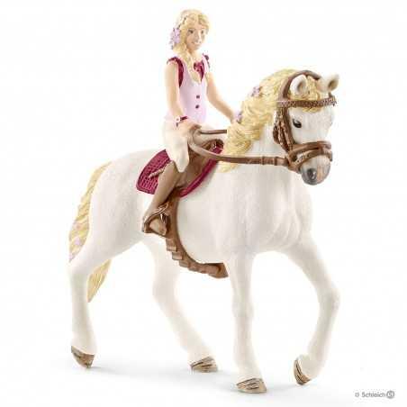 SOFIA E BLOSSOM cavallo HORSE CLUB schleich 42515 cavallerizza GIUMENTA ANDALUSA età 5+ Schleich - 1