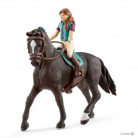 LISA E STORM cavallo HORSE CLUB schleich 42516 cavallerizza HANNOVER età 5+ Schleich - 1