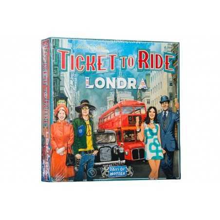 LONDRA mini gioco completo TICKET TO RIDE london ANNI 70 city DAYS OF WONDER età 8+ Asmodee - 1