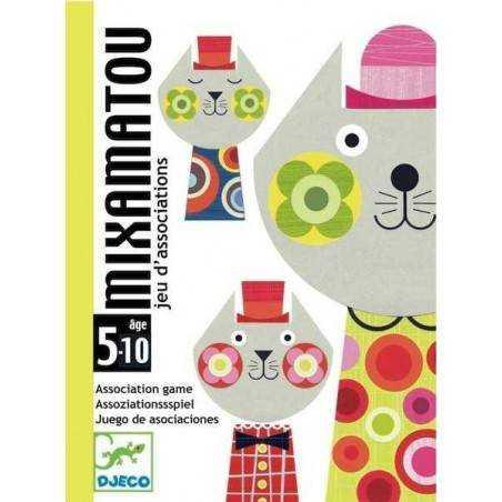 MIXAMATOU by DJECO gioco di carte DJ05130 Djeco - 1