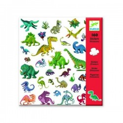 DINOSAUR stickers 160 pz...