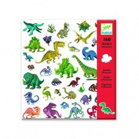 Adesivi attaccastacca DINOSAURI 160 pz Djeco sticker DJ08843 Djeco - 1