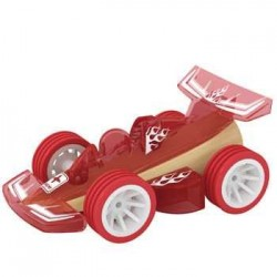 WOODEN BAMBOO CAR RACER toy...
