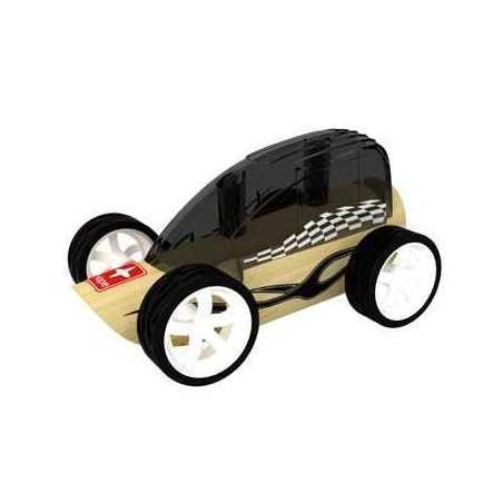 LOW RIDER AUTO IN LEGNO BAMBOO MACCHININA - HAPE età 3+ MINI VEICOLI Hape - 1