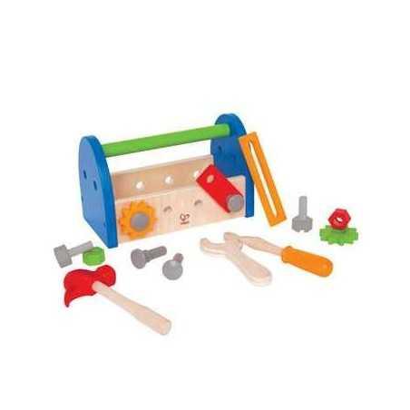CASSETTA DEGLI ATTREZZI gioco in legno età 3+ Hape Fix-it tool box Hape - 1