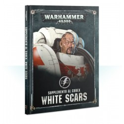 SUPPLEMENTO AL CODEX manuale in italiano WHITE SCARS warhammer 40k GAMES WORKSHOP citadel A COLORI età 12+ Games Workshop - 1