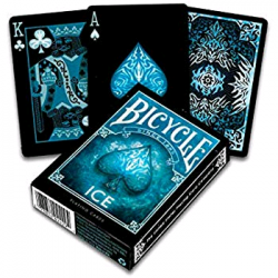 ICE blu BICYCLE mazzo DA GIOCO playing cards CLASSICO made in us 52 CARTE air cushion finish Raven Distribution - 1