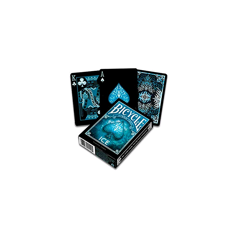 Ice Blu Bicycle Mazzo Da Gioco Playing Cards Classico Made In Us 52 Carte Air Cushion Finish