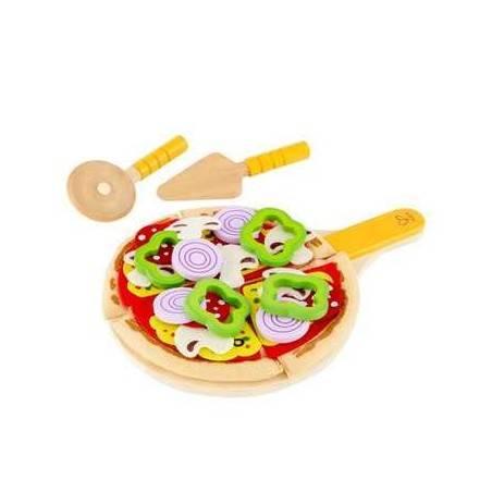 PIZZA FATTA IN CASA gioco di imitazione cucina legno età 3+ Hape Hape - 1