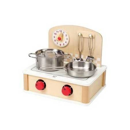 CUCINA IN LEGNO gioco di imitazione cucina legno età 3+ Hape Hape - 3