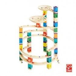 Quadrilla THE ULTIMATE gioco piste in legno per biglie età 4+ Hape Hape - 1