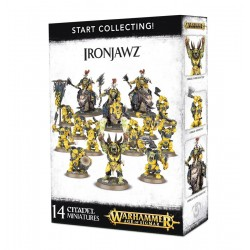 START COLLECTING IRONJAWZ...