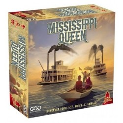 MISSISSIPPI QUEEN gioco da tavolo GATE ON GAMES audaci gare di battelli SUPER MEEPLE età 10+ GateOnGames - 1