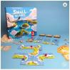 SMALL ISLANDS gioco da tavolo PIAZZAMENTO TESSERE in italiano NAVI E ISOLE età 8+ Asmodee - 2