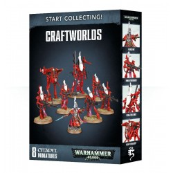 START COLLECTING 8 miniature CRAFTWORLDS games workshop WARHAMMER 40K citadel 12+ Games Workshop - 1