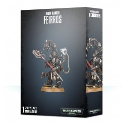 FEIRROS 1 miniatura IRON HANDS citadel WARHAMMER 40K games workshop MASTER OF THE FORGE età 12+ Games Workshop - 1