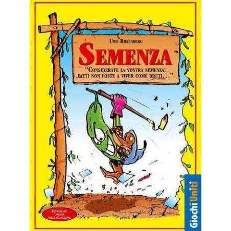 Semenza edizione italiana 2013 - base e 2 espansioni  - gioco di carte x 2-7 gioc Giochi Uniti - 2
