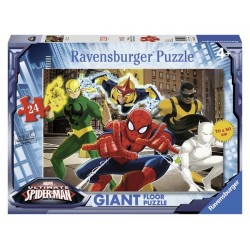 GIANT FLOOR PUZZLE 24 PEZZI ravensburger MARVEL ULTIMATE SPIDERMAN i fantastici supereroi 3+ Ravensburger - 1