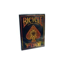 FIRE elements series BICYCLE mazzo DA GIOCO playing cards 52 CARTE made in usa POKER SIZE air cushion finish BICYCLE - 1