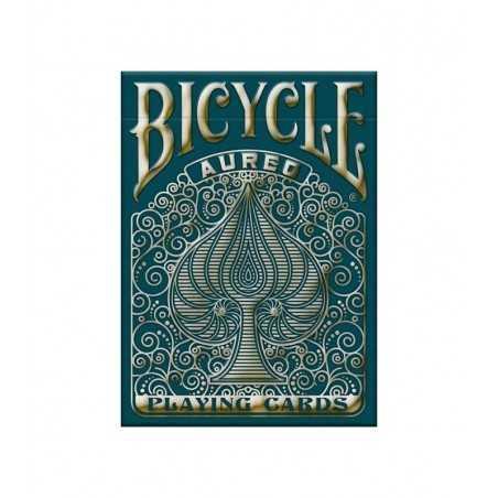 AUREO oro BICYCLE mazzo DA GIOCO playing cards 52 CARTE made in usa POKER SIZE air cushion finish BICYCLE - 1