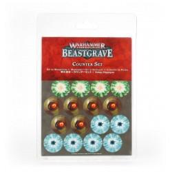 BEASTGRAVE warhammer underworlds COUNTER SET in cartone 48 SEGNALINI età 12+ Games Workshop - 1