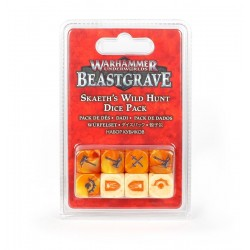 BEASTGRAVE warhammer underworlds SKAETH'S WILD HUNT dice pack 8 DADI età 12+ Games Workshop - 1