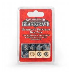 BEASTGRAVE warhammer underworlds GRASHRAK'S DESPOILERS dice pack 8 DADI età 12+ Games Workshop - 1