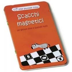 SCACCHI MAGNETICI gioco da viaggio PORTATILE in italiano THE PURPLE COW età 6+ The Purple Cow - 1