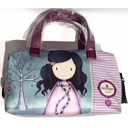 BORSA con manici THE WILD HEART borsetta GORJUSS santoro VIOLA london JU058700 Gorjuss - 1