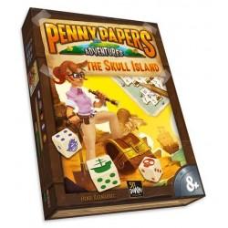 PENNY PAPERS adventures SKULL ISLAND ghenos games VERSIONE ITALIANA età 8+ Ghenos Games - 1