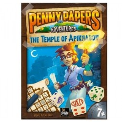 PENNY PAPERS adventures A TEMPLE OF APIKHABOU ghenos games VERSIONE ITALIANA età 8+ Ghenos Games - 1