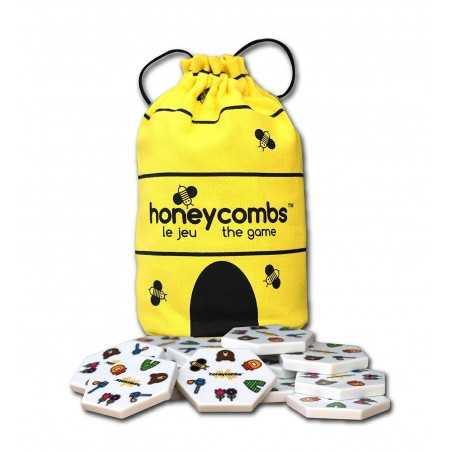 HONEYCOMBS gioco di associazione CREATIVAMENTE favo ESAGONI nido d'ape PARTY GAME età 5+ Creativamente - 1