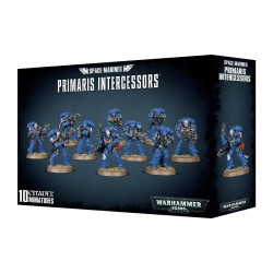 PRIMARIS INTERCESSORS 10 miniature SPACE MARINES citadel WARHAMMER 40K games workshop 12+ Games Workshop - 1