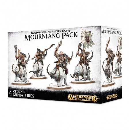 MOURNFANG PACK 4 miniature BEASTCLAW RAIDERS citadel WARHAMMER games workshop AGE OF SIGMAR età 12+ Games Workshop - 1