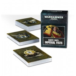 CARTE DATI in italiano IMPERIAL FISTS citadel WARHAMMER 40K games workshop MAZZO età 12+ Games Workshop - 1
