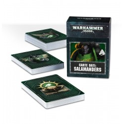 CARTE DATI in italiano SALAMANDERS citadel WARHAMMER 40K games workshop MAZZO età 12+ Games Workshop - 1