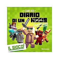 DIARIO DI UN GUERRIERO minecraft IL GIOCO cube kid ELECTA JUNIOR noob PARTY GAME età 7+ Asmodee - 1