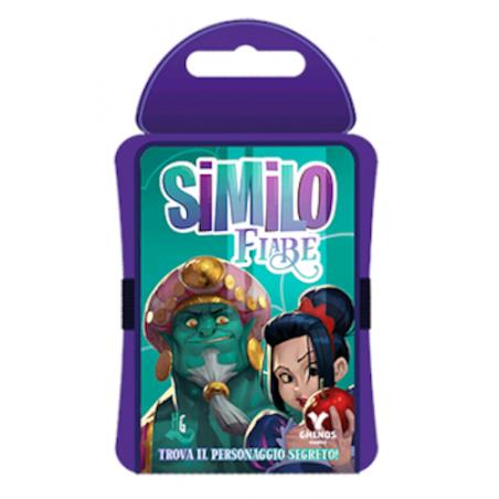SIMILO FIABE gioco di carte PERSONAGGIO SEGRETO in italiano DEDUZIONE cooperativo TASCABILE età 7+ Ghenos Games - 1