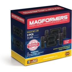 RUOTE CLICK wheels MAGFORMERS asse 2 PEZZI mezzi di trasporto COSTRUZIONI magnetiche 3D età 3+ MAGFORMERS - 1