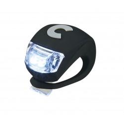 LUCE monopattino NERO silicone flessibile LED di sicurezza MICRO resistente all'acqua DELUXE light Micro - 1